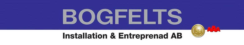 Bogfelts Installation & Entreprenad AB logo